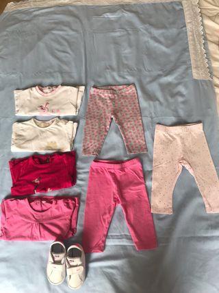 Lote ropa sport bebe 6 meses