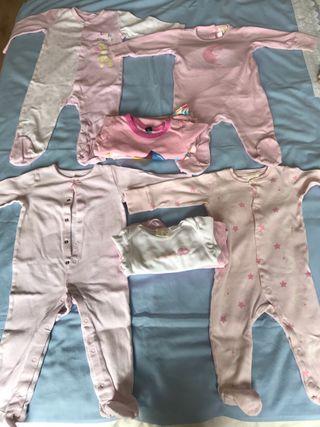 Lote de pijamas y bodies 6-9 meses