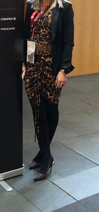 Vestido de Zara Animsl Print