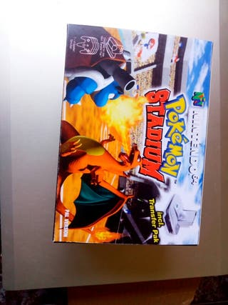 Pokemon stadium + caja + insert