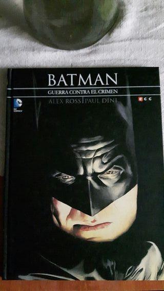 Batman Guerra contra el crimen cómic
