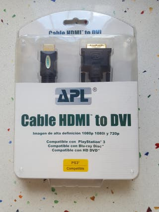 cable HDMI a DVI