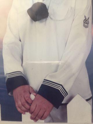 Traje de comunión ,marinero.