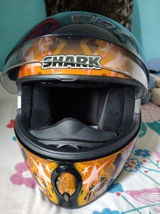 Casco Shark s800 fever mujer talla S nuevo