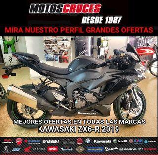 2019 KAWASAKI ZX6-R MOTOS NUEVAS MEJORES OFERTAS