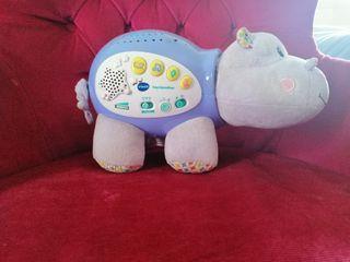 pipi estrellitas, hipopótamo proyector
