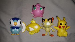 5 figuras Pokemon Mcdonalds