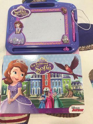 Pizarra magnética princesa Sofía