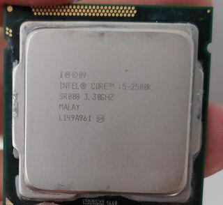 Procesador Intel Core i5 2500k