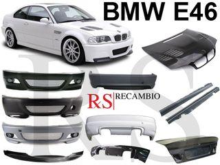 CARROCERÍA BMW E46 FIBRA CARBONO