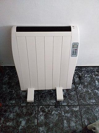 radiador eléctrico con mando a distancia
