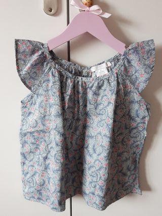 Camisa Zara niña 3-4 años