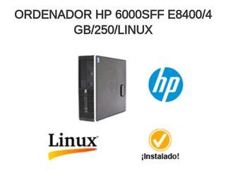 ORDENADOR HP 6000SFF E8400/4 GB/250