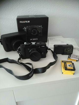 Cámara Fujifilm Fuji x20