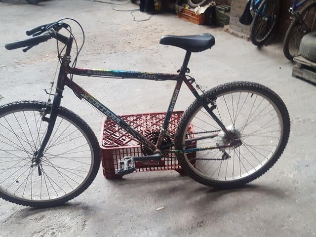 Bicicleta Shimano Montana