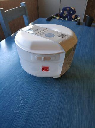 Esterilizador de biberones microondas y agua fria