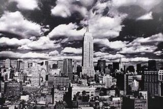 Cuadro New York Empire State - Blanco y negro