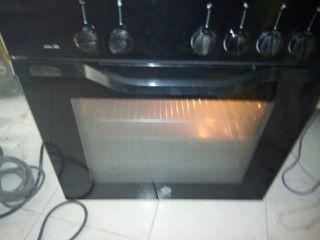 horno eléctrico balay y encimera de gas