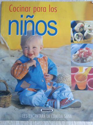 Libro de cocina para niños- Cocinar para niños