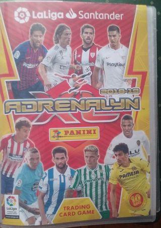 Cromos adrenalyn xl 2018-2019 la liga