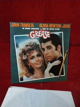 Disco vinilo Grease
