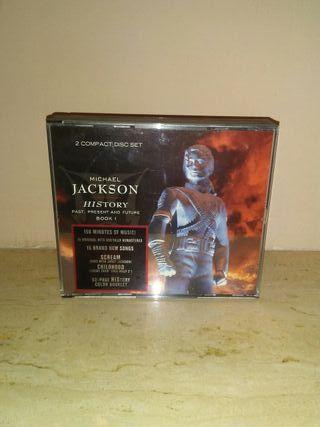 CDS MICHAEL JACKSON History 2 compac disc set