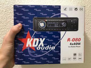 Radio de coche KDX R-080 4x40W