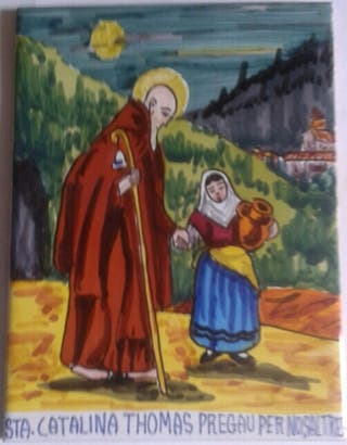 Santa Catalina Thomas. Baldosa