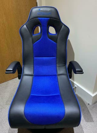 Xrocket gaming chair with speakers (also bluetooth