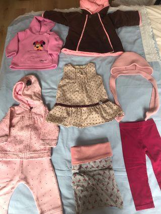 Lote ropa invierno 12 meses