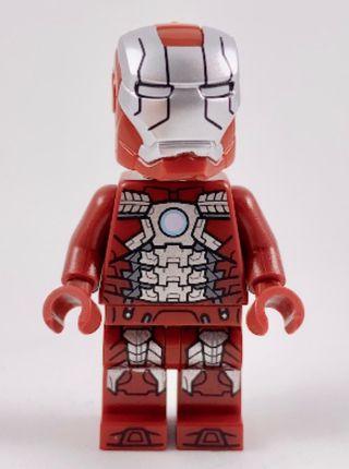 LEGO SUPER HEROES 76125 IRON MAN MARK 5 ARMOR