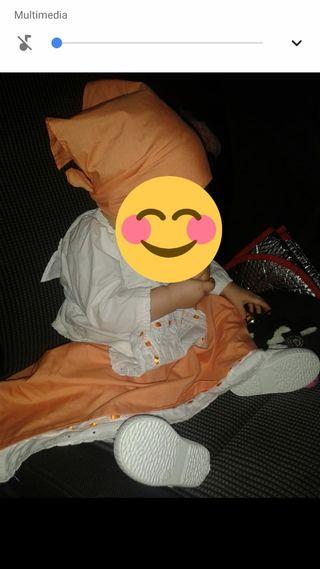 ropa de canaria,blusa,falda,delantal,pañuelo