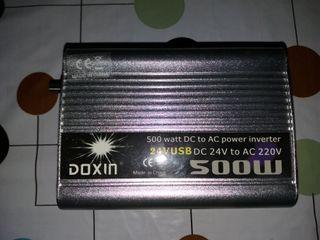 inversor de voltaje de 12/24 voltios 500 Watios