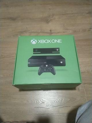 Xbox One + Mando + auriculares/micro + cable HDMI