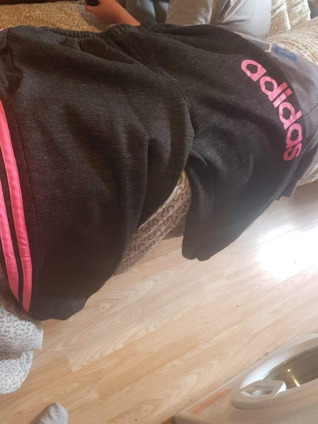woman Adidas tracksuit
