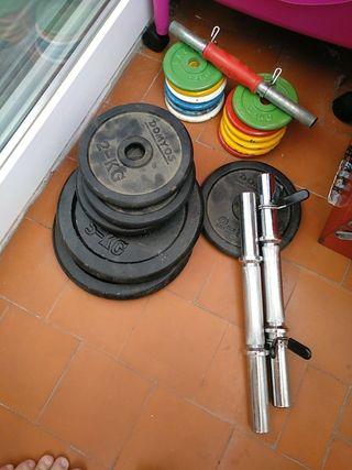 Banco de gimnasia / pesas