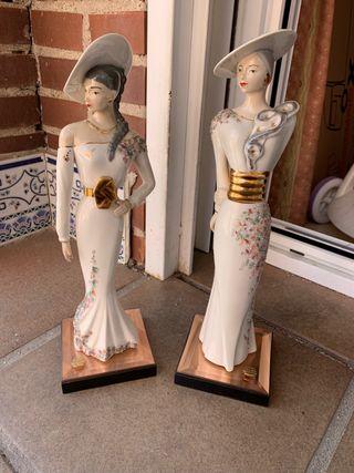 Figura porcelana Casades