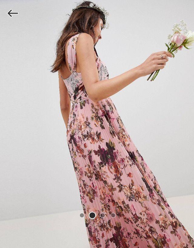 Venta caliente genuino exuberante en diseño gran venta Vestido para ocasiones especiales ASOS de segunda mano por ...