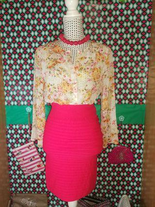 Blusa Zara, talla L