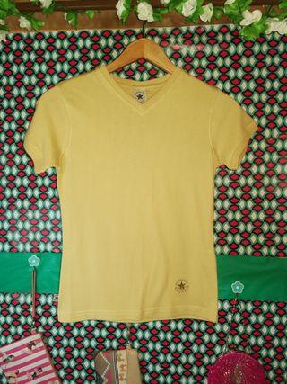 Camiseta Converse, talla XS