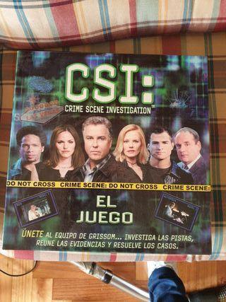 CSI juego de mesa