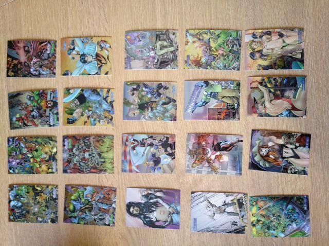 Cromos y cartas