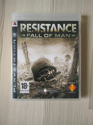 Ps3 - Resistance fall of man