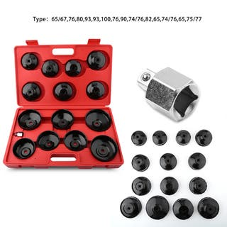 Kit llaves de vaso para filtros de aceite