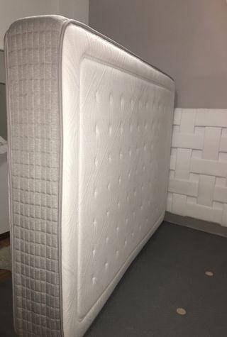 Colchón + base tapiz