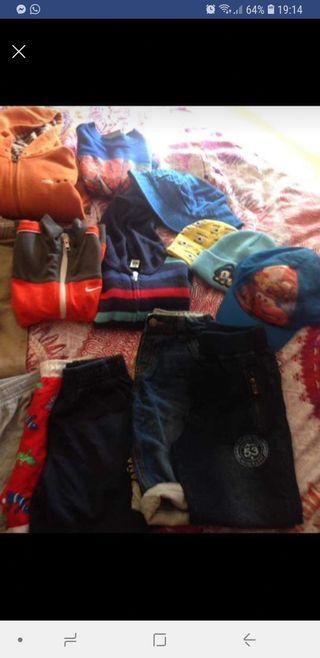 ropa niño desde 14 meses a 6 años