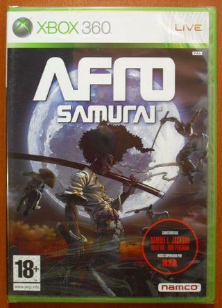 Afro Samurai, Namco, Xbox 360, Pal-España ¡NUEVO!
