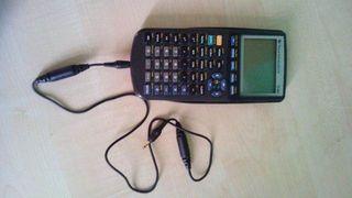 Calculadora Científica gráfica Texas TI83 + Cable