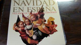 Disco Vinilo. Villancicos tradicionales españoles.