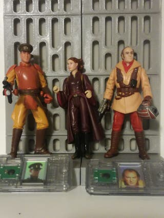 Star Wars figuras Asalto eb Theed